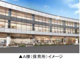 渋谷代官山Rプロジェクトのエントランス