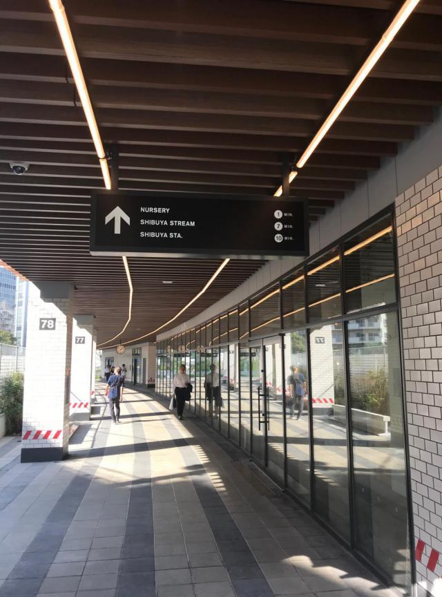 渋谷ブリッジ 4F 94.76坪(313.25m<sup>2</sup>)の内装