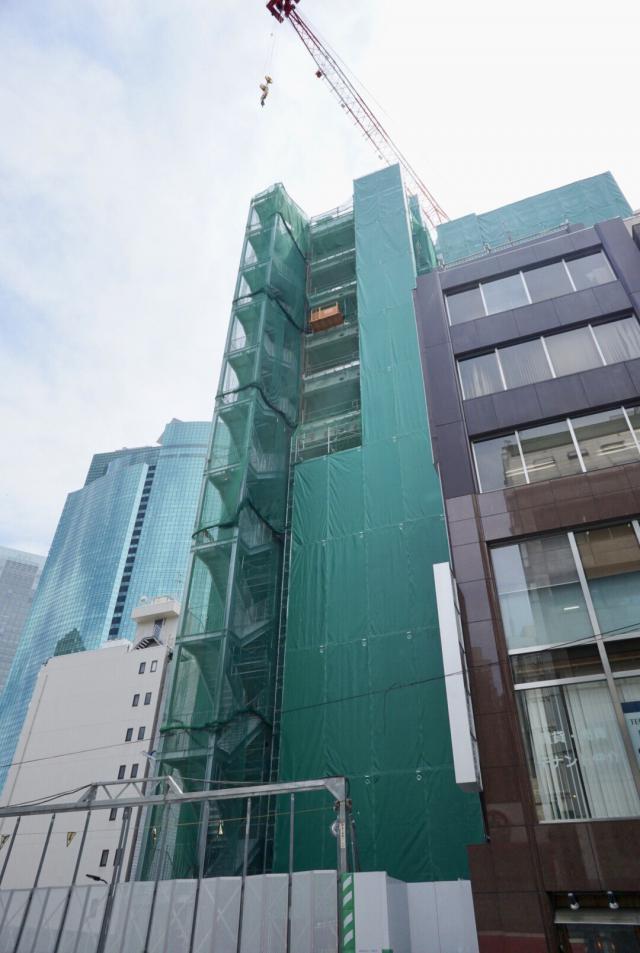 仮)新橋1-9計画 8F 151.55坪(500.99m<sup>2</sup>)