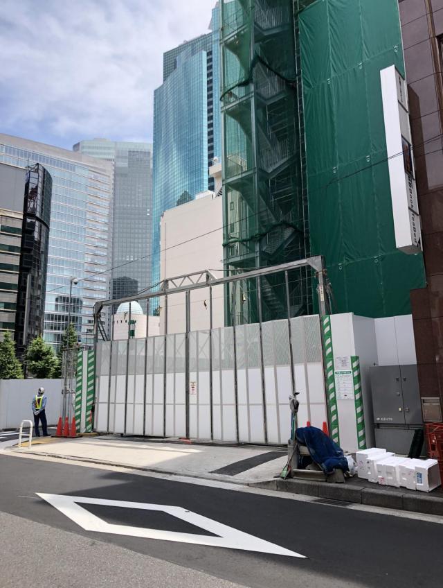 仮)新橋1-9計画 8F 151.55坪(500.99m<sup>2</sup>)の内装