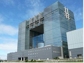 テレコムセンタービルの外観写真