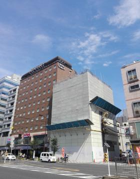 立花第2国際ビル(ホテルサンルート浅草)の外観写真