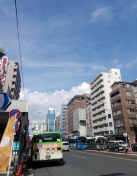 立花第2国際ビル(ホテルサンルート浅草)のエントランス