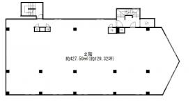 ホワイトハイツ小峰ビル:基準階図面