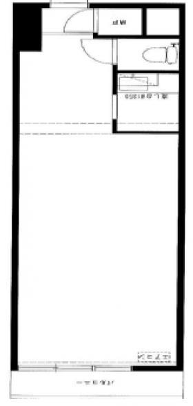 新高ビル:基準階図面