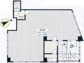 早稲田ハイムビル:基準階図面