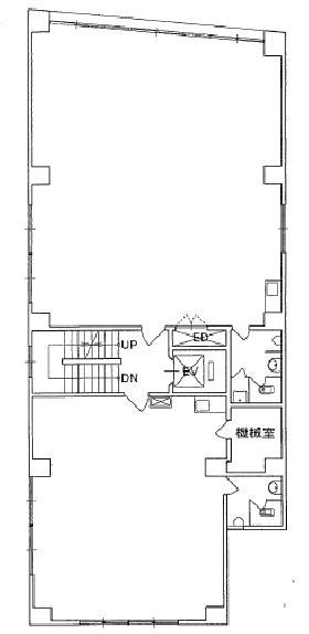 麹町秋山ビルディング:基準階図面
