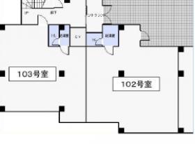 インペリアルパレスビル:基準階図面