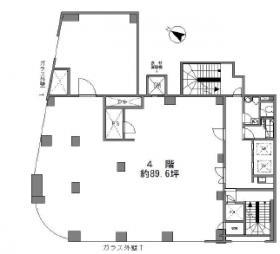 NCビル:基準階図面