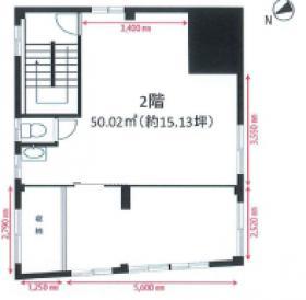 茶静山園ビル:基準階図面