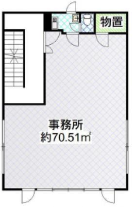 豊山ビル:基準階図面