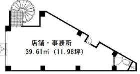 西川口230ビル:基準階図面