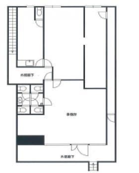 第3五福ビル:基準階図面