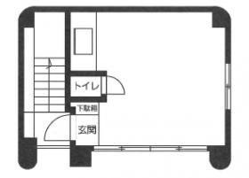 桜田通りKビル:基準階図面