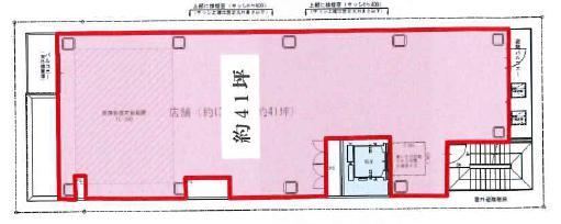 (仮称)GINZA738 4F 41.19坪(136.16m<sup>2</sup>) 図面