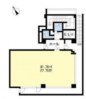 エスポワール・2ビル:基準階図面
