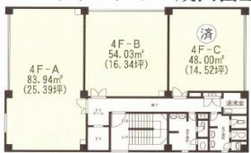 クローバービル:基準階図面