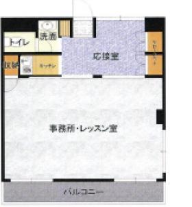 サンパトラ鶴川ビル:基準階図面