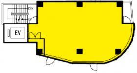 第Ⅴ大栄ビル:基準階図面