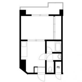 ヤマトハイツビル:基準階図面