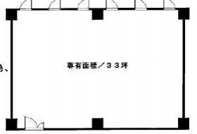 高島平スカイプラザビル:基準階図面