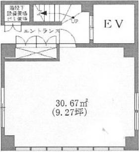 エターナル新富ビル:基準階図面