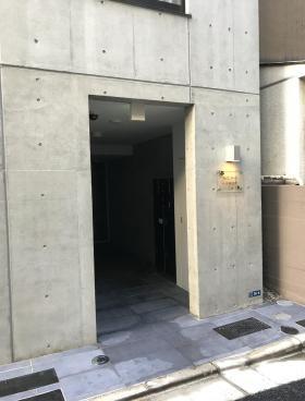桜ヒルズ日本橋浜町ビルのエントランス