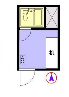 西新宿ダイヤモンドビル:基準階図面