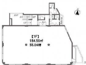 Nテラス市ヶ谷ビル:基準階図面