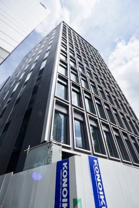 S-GATE日本橋本町ビルのエントランス