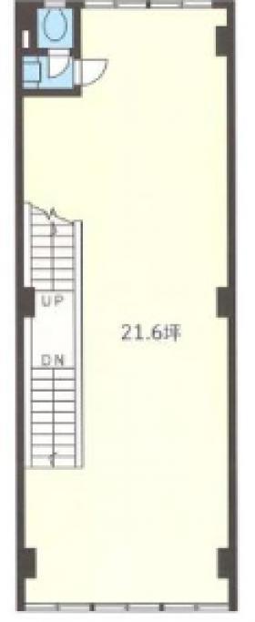 小口ビル:基準階図面