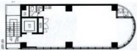 新宿イーストクロスタワー:基準階図面