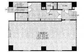 リバーレ東新宿ビル:基準階図面