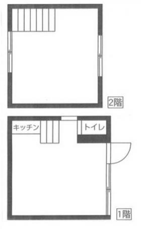 銀座一丁目貸事務所:基準階図面