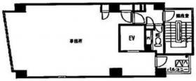 SC赤坂ビル:基準階図面