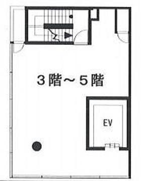 原宿TWビル:基準階図面