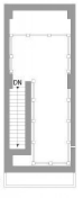 S-表参道ビル:基準階図面