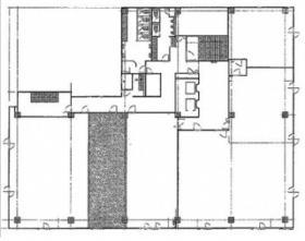 船橋本町プラザビル:基準階図面