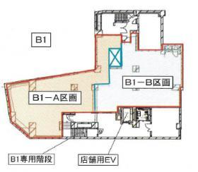 ラベイユ麻布十番ビル:基準階図面