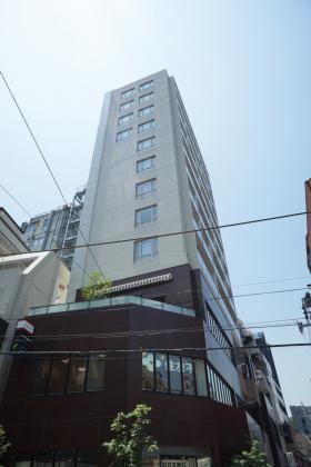 ラベイユ麻布十番ビルの外観写真
