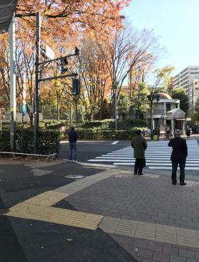 仮称)西新宿PINE NEEDLEのエントランス