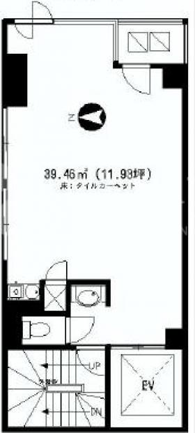 ダイコービル:基準階図面