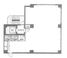 ベルヴュー麹町:基準階図面