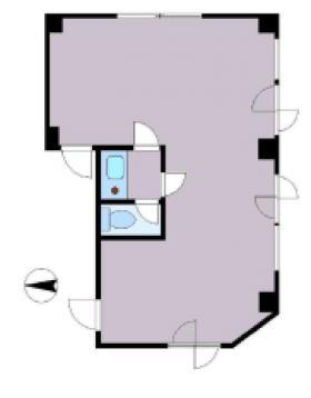 KH's幡ヶ谷ビル:基準階図面