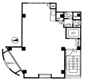 千代田21ビル:基準階図面