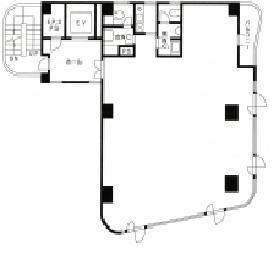ミュージアム1999二番町ビル:基準階図面