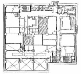 日本教育会館:基準階図面