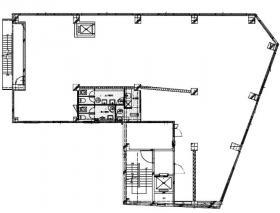 ザ・パークレックス日本橋浜町ビル:基準階図面