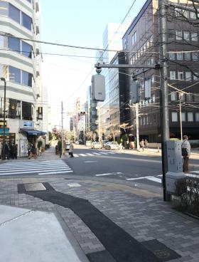 COSMY新川ビルの内装