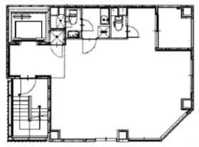COSMY新川ビル:基準階図面
